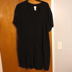 H&M Black Shirt Dress 12